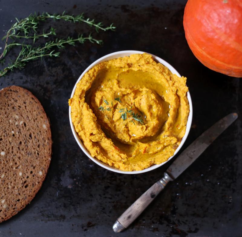 Pumpkin Hummus • Green Evi