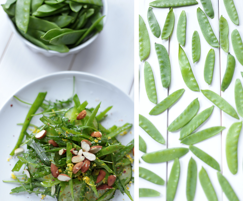 how to prepare fresh snow peas